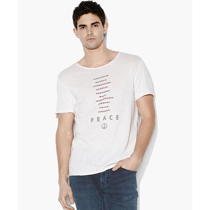 Men's Peace Words T-Shirt