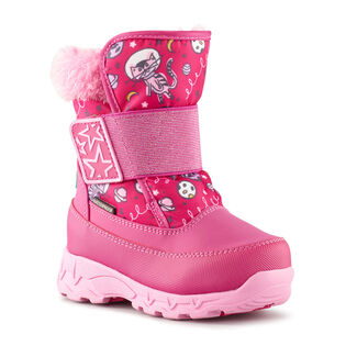 Babies' [4-10] Space Cat Nylon Snow Boot