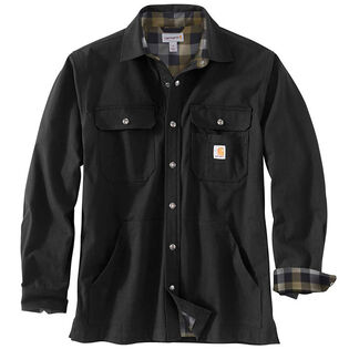 Men's Ripstop Solid Shirt Jacket