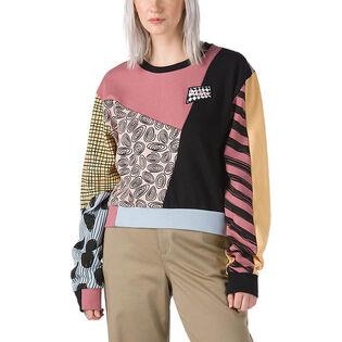 Women's Nightmare Before Christmas Sally Patchwork Sweatshirt