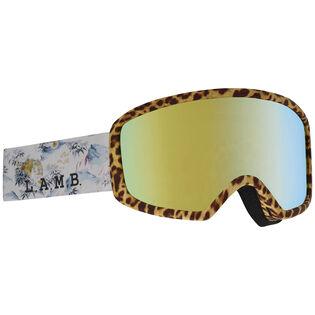 Women's L.A.M.B. Deringer MFI® Snow Goggle + Facemask