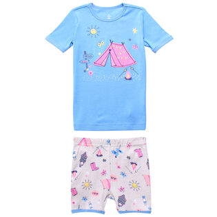 Girls' [2-6X] Summer Camp Two-Piece Pajama Set