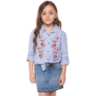 Junior Girls' [7-14] Romance Floral Shirt