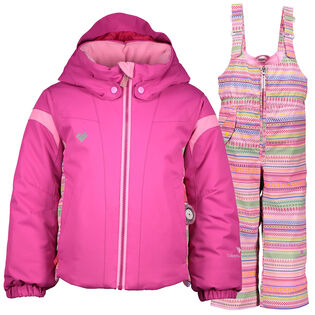 Girls' [2-7] Twist Snoverall Two-Piece Snowsuit