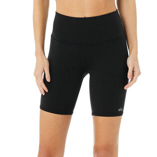 Women's High Waist Biker Short