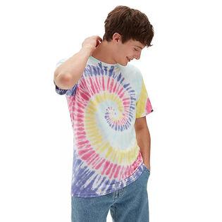 Men's Drop V Spiral Tie-Dye T-Shirt