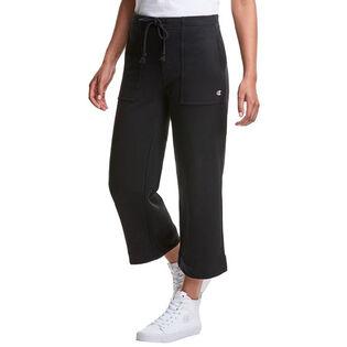 Women's Super Fleece Wide Crop Pant