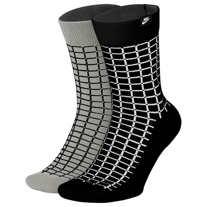 Unisex Sportswear SNKR Sox Crew Sock (2 Pack)