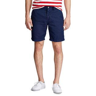 Men's Classic Fit Linen-Cotton Short
