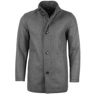 Manteau à carreaux Camron pour hommes