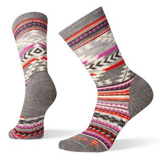 Women's Premium Chup Potlach Crew Sock