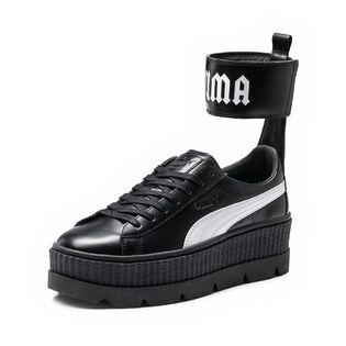 Women's Ankle Strap Creeper Sneaker