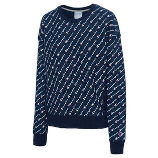 Women's Reverse Weave Crewneck Sweater