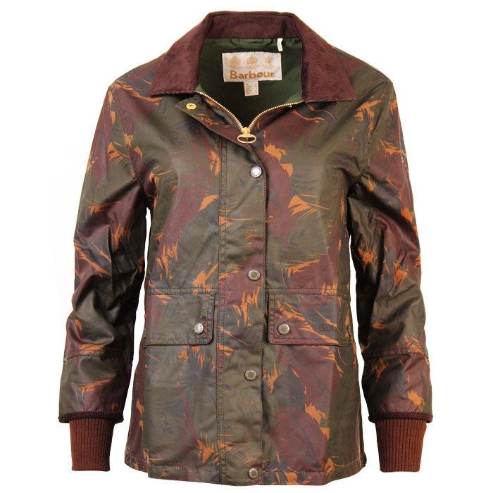 Women's Feather Tawny Waxed Cotton Jacket