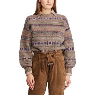 Women's Fair Isle Crew Sweater
