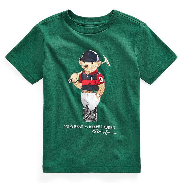 T-shirt en jersey de coton Ours Polo pour garçons [5-7]