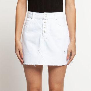 Women's Five-Pocket Denim Mini Skirt
