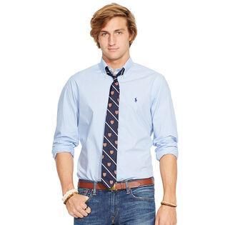Men's Checked Poplin Shirt