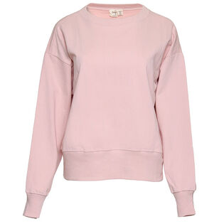 Women's French Terry Crop Pullover Sweatshirt