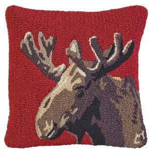 Velvet Moose Pillow