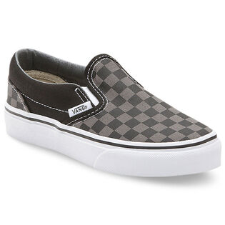 Junior Boys' [11-4] Checkerboard Classic Slip-On Shoe
