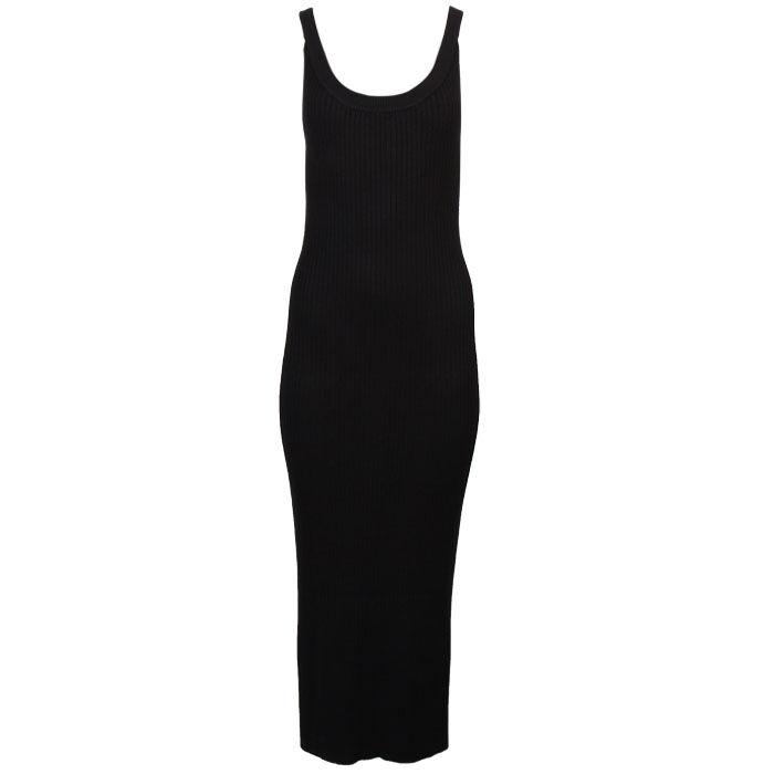 Women's Side Stripe Maxi Tank Dress