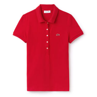 Women's Slim Fit Stretch Pique Polo