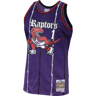 Men's Tracy McGrady Old English Faded Swingman Jersey