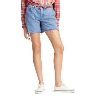 Women's Frayed Chino Short