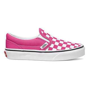 Juniors' [3.5-7] Checkerboard Classic Slip-On Shoe
