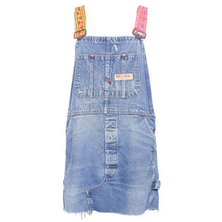 Women's Reworked Overall Dress