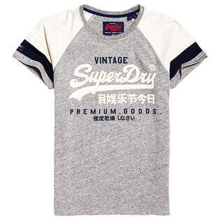 Men's Vintage Logo Tri-Colour Raglan T-Shirt
