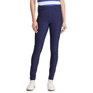 Pantalon ajusté en sergé extensible pour femmes