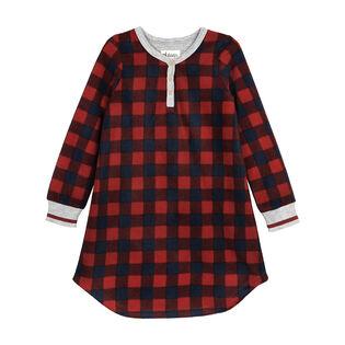 Junior Girls' [8-14] Buffalo Plaid Nightgown