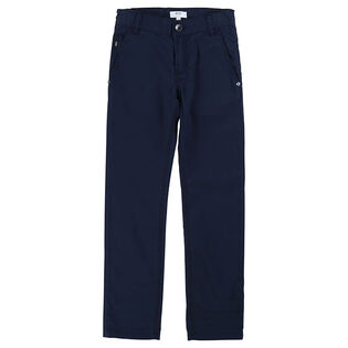 Junior Boys' [4-16] Classic Twill Pant