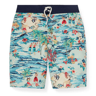 Junior Boys' [8-20] Sanibel Luau Swim Trunk