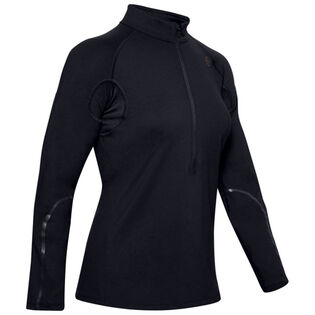 Women's Rush ColdGear® Run 1/2-Zip Top