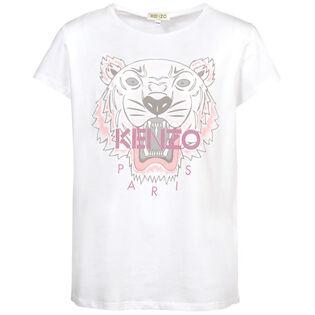 Junior Girls' [8-14] Tiger T-Shirt