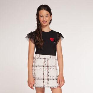Junior Girls' [7-14] Prague Plaid Skirt