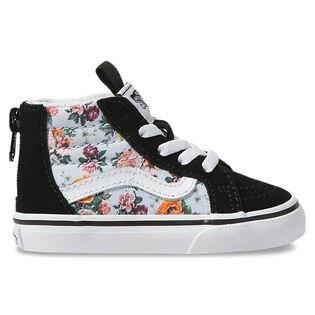 Babies' [4-10] Garden Floral Sk8-Hi Zip Shoe