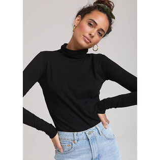 Women's Slim Turtleneck Top