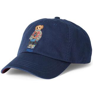 Men's Polo Bear Cotton Chino Cap