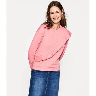 Women's Lightweight Frill Sweatshirt