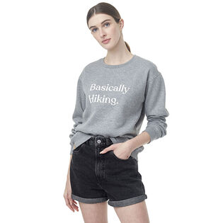 Women's Basically Hiking Crew Sweatshirt