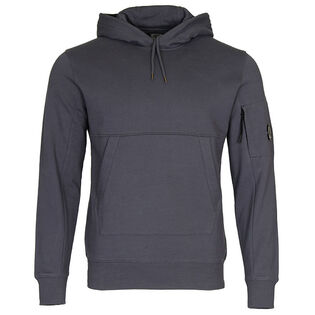 Men's Diagonal Fleece Lens Pullover Hoodie