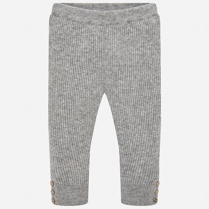 Baby Girls' [6-12M] Ribbed Knit Legging