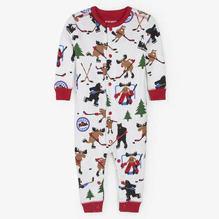Babies' [3-24M] Wild About Hockey Union Suit