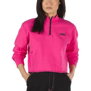 Women's Thread It Mock Quarter-Zip Sweatshirt