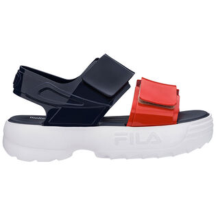 Women's Melissa X Fila Platform Sandal