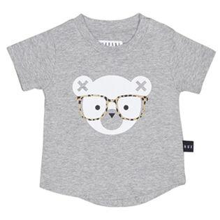 T-shirt Nerd Bear pour bébés [12-18M]